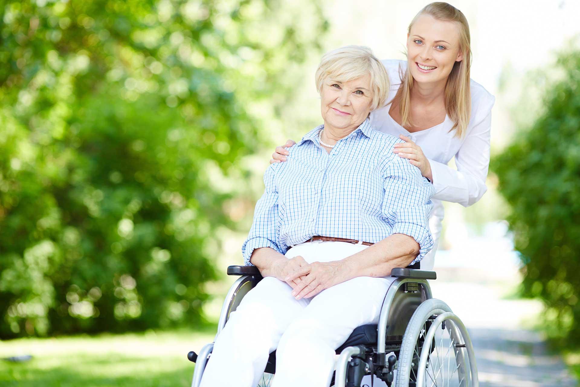 Headerbild ambulanter Pflegedienst mit Fürsorge und Vertrauen